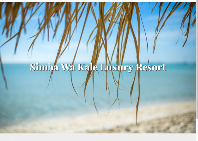 Simba Wa Kale Resort